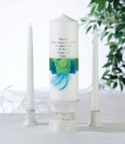 Blue & Green Candle Set